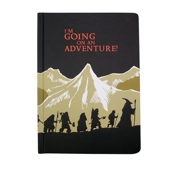 Notebook The Hobbit - I'm Going On An Adventure!