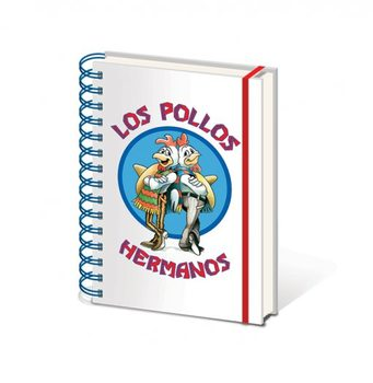 Breaking Bad - Los Pollos Hermanos A5 Notebook