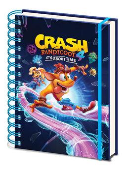 Notebook Crash Bandicoot 4 - Ride