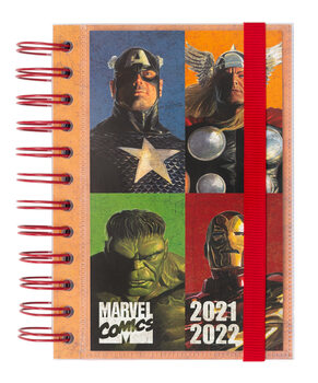 Notebook Diary Marvel - Comics
