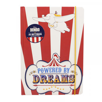 Dumbo - Powered By Dreams A5 Notebook