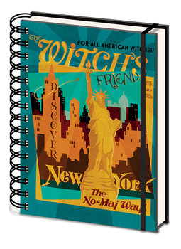 Fantastic Beasts And Where To Find Them - The Witchs Friend Notebook