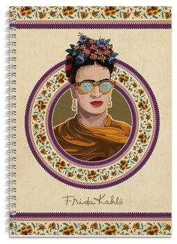 Notebook Frida Kahlo A4