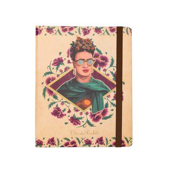 Frida Kahlo - Glasses A5 Notebook