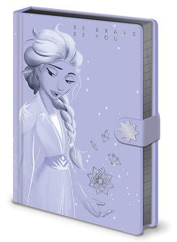 Frozen 2 - Lilac Snow Notebook