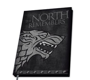 Game Of Thrones - Stark Notebook