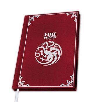 Notebook Game of Thrones - Targaryen