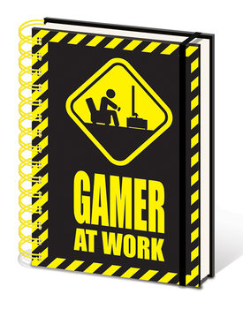 Gamer At Work Notebook