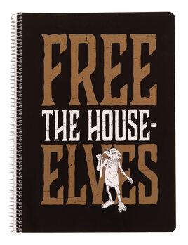Notebook Harry Potter - Dobby Free Elf A4