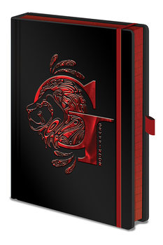 Harry Potter - Gryffindor Foil Notebook