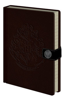 Harry Potter - Hogwarts Crest / Clasp Premium Notebook