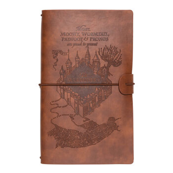 Notebook Harry Potter - Marauders Map