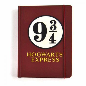 Notebook Harry Potter - Platform 9 ¾