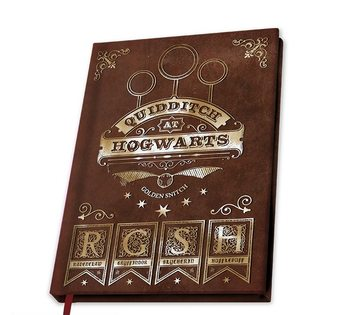 Harry Potter - Quidditch Notebook