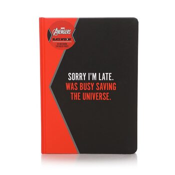 Notebook Marvel - Black Widow