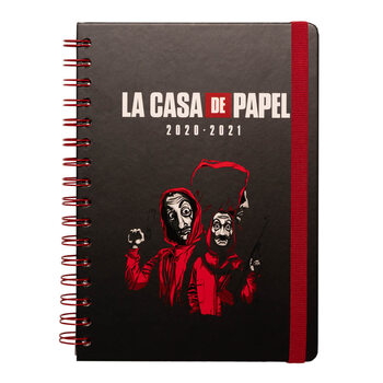 Money Heist (La Casa De Papel) - A5 Diary 08.2020/07.2021 Notebook