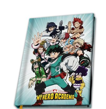 My Hero Academia - Heroes Notebook