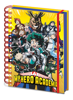 My Hero Academia - Radial Character Burst Notebook