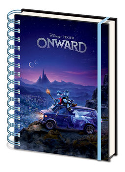 Onward - Fantasy Skyline Notebook