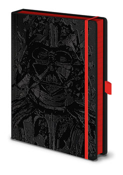 Star War - Vader Art Notebook