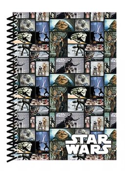 Star Wars - Blocks A5 Soft Cover Notebook Notebooks