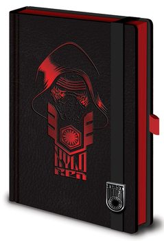 Star Wars Episode VII: The Force Awakens - Kylo Ren Premium A5 Notebook Notebooks