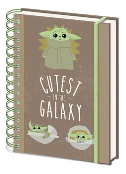 Star Wars: The Mandalorian - Cutest In The Galaxy Notebook