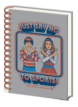 Steven Rhodes - Say No to Sports Notebook