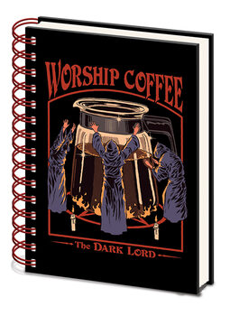 Notebook Steven Rhodes - Worship Coffee