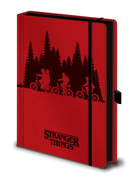 Notebook Stranger Things - Upside Down