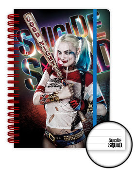 Suicide Squad - Harley Quinn Good Night Notebook