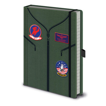 Notebook Top Gun - Flight Suit