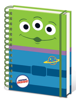 Toy Story 4 - Alien Notebook