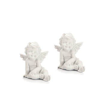 Angel Sitting, 5 cm, set of 2 pcs Objectos Decorativos
