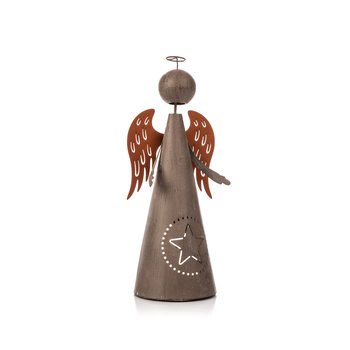 Metal Angel, 26 cm Objectos Decorativos