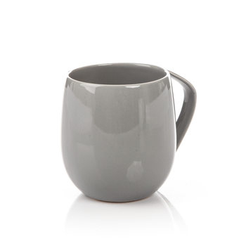 Mug Egg-Shaped Dark Gray 300 ml Objectos Decorativos