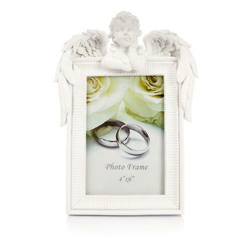 Photo Frame with Angel – Photo 10x15cm Objectos Decorativos