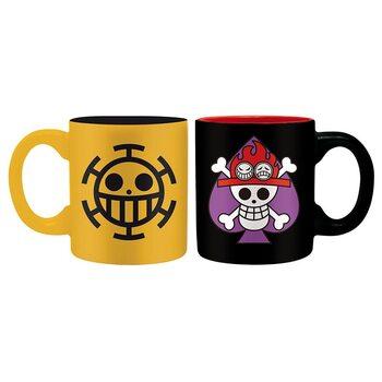Caneca One Piece - Ace & Trafalgar
