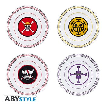 Louça One Piece - Emblems