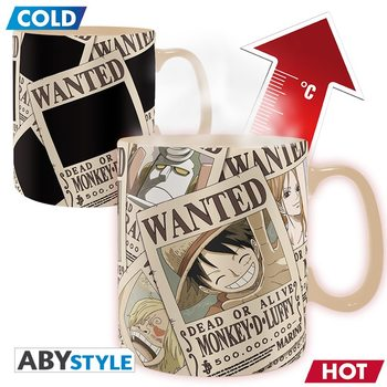Caneca One Piece - Wanted