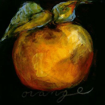 Orange Reproduction d'art