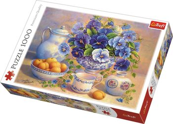 Puzzle Blue Bouquet