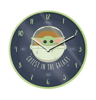 Clock Star Wars: The Mandalorian - The Cutest in the Galaxy