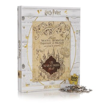 Puzzle Harry Potter - Marauders Map
