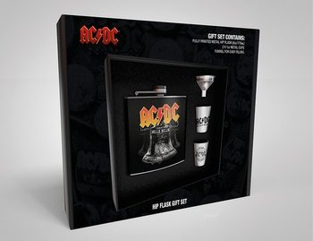 Hip Flask: Gift Set AC/DC - Hells Bells