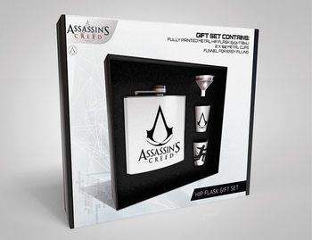 Hip Flask: Gift Set Assassins Creed - Logo