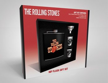 Hip Flask: Gift Set The Rolling Stones  - Tongue