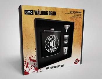 Hip Flask: Gift Set The Walking Dead - Walker Hunter