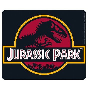 Jurassic Park - Pixel logo