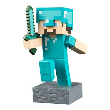 Figurine Minecraft - Diamond Steve Adventure